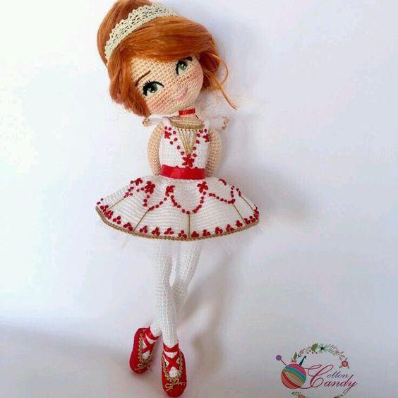 Bailarina rusa crochet