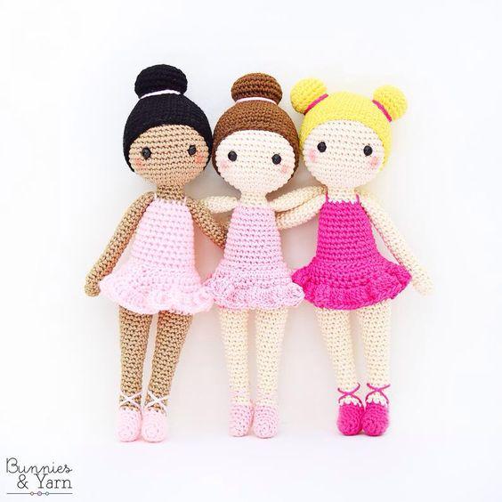 Tres amigas, bailarinas de Ballet