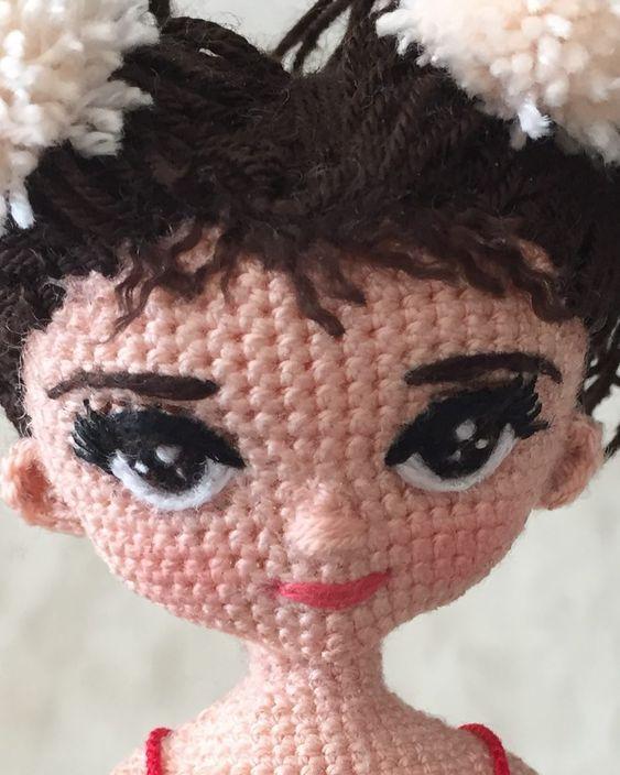 galería caras bonitas, muñecas amigurumis