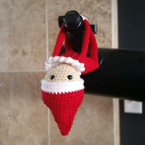 Duende para puertas hecho en crochet