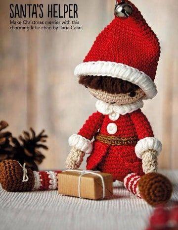 Los Duendes y Gnomos más lindos de Navidad en crochet