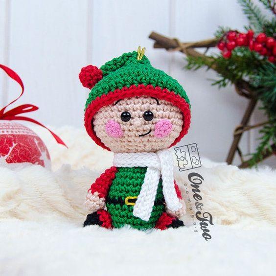 Los Duendes más lindos de Navidad en crochet