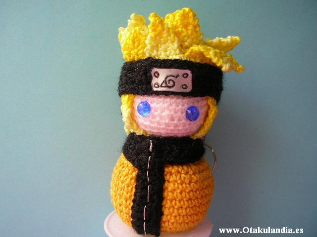 Naruto uzumaki amigurumi