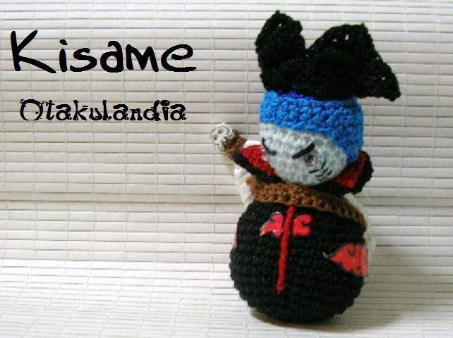Kisame de los Akatsukis, amigurumi