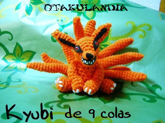 Kyubi 9 colas - Naruto - amigurumi