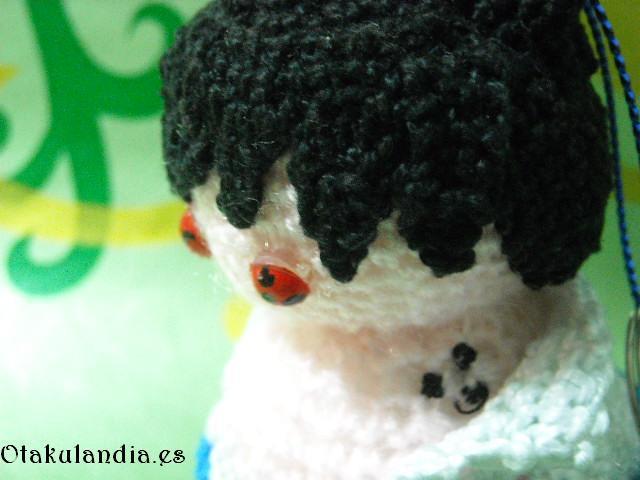 Sasuke, marcas cuello crochet
