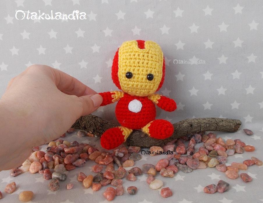 Iron Man, chibi amigurumi