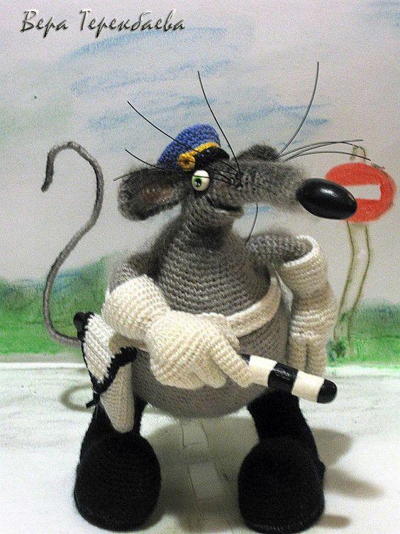 El año de la Rata Amigurumi