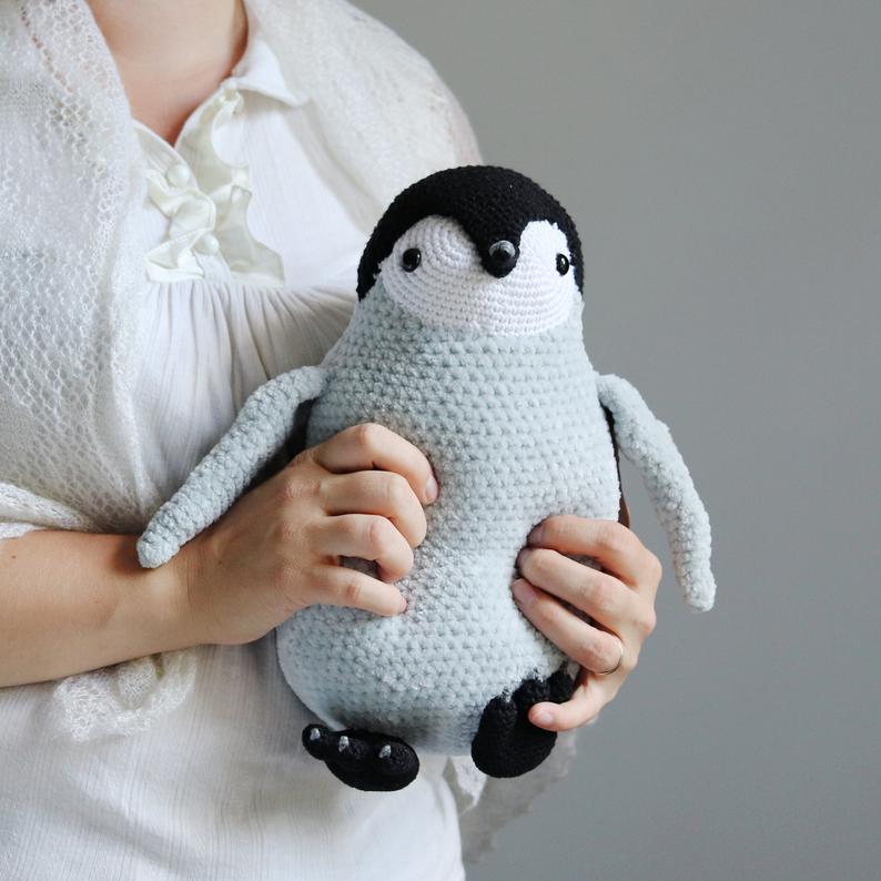 Pingüinos para abrazarlos mucho mucho