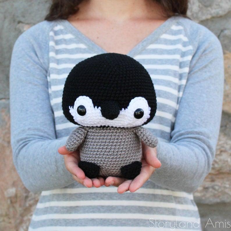 Amigurumi pingüino