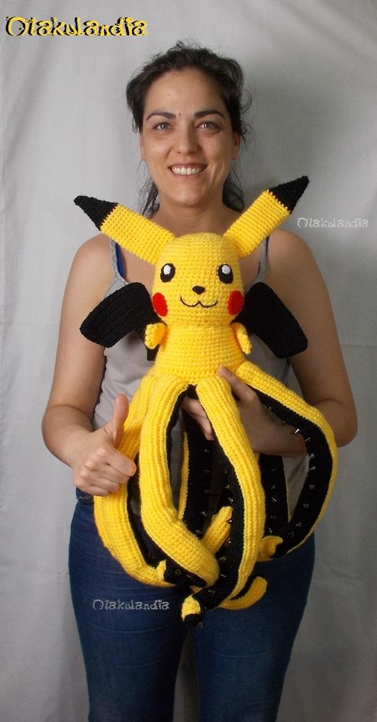 pulpachu gigante crochet