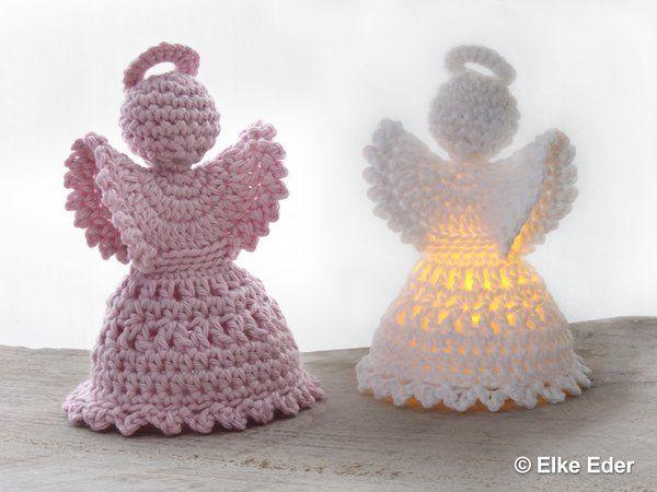 angeles amigurumi para su Primera Comunion