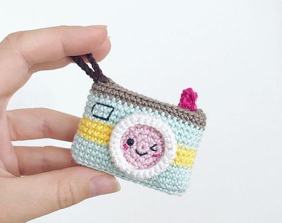 llaveros kawaii crochet