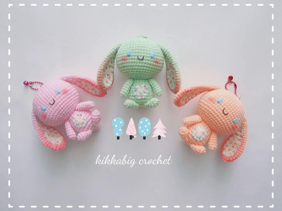 munecos pequeños hechos en crochet