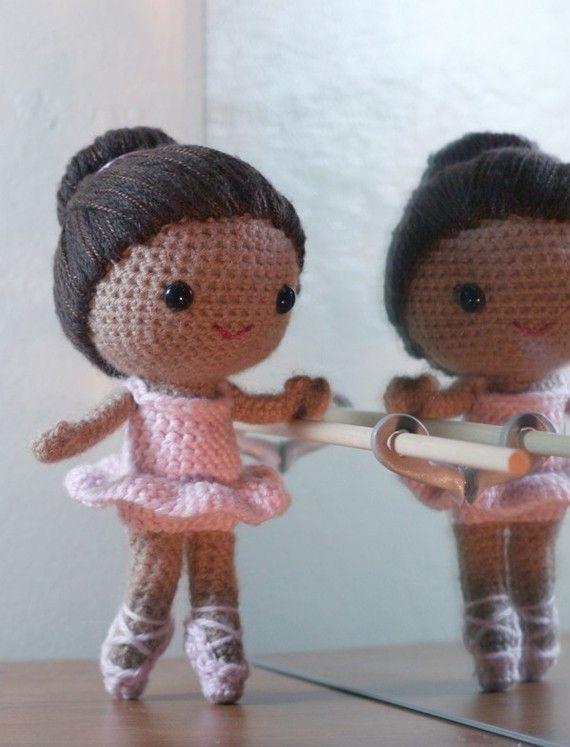 muñecos crochet pequeños