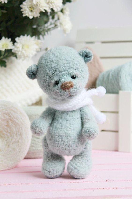 oso amigurumi ruso