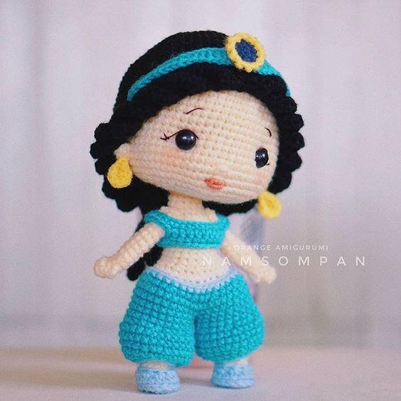 princesita amigurumi