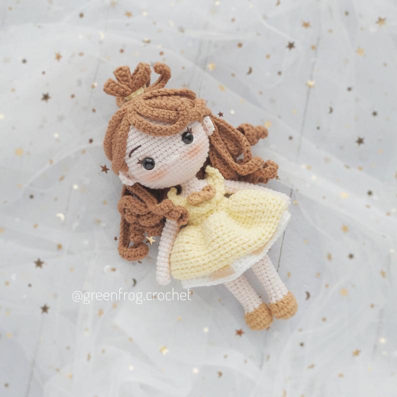 princesas disney amigurumi