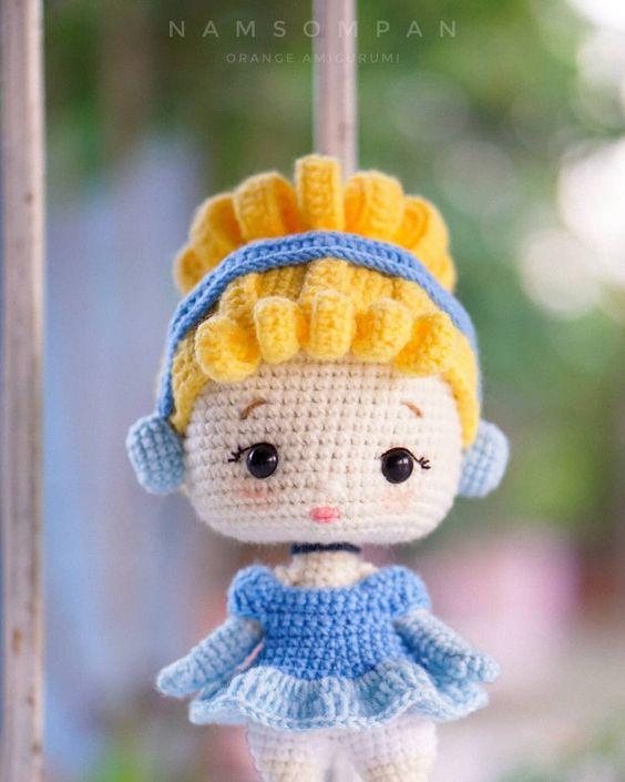 princesita disney amigurumi