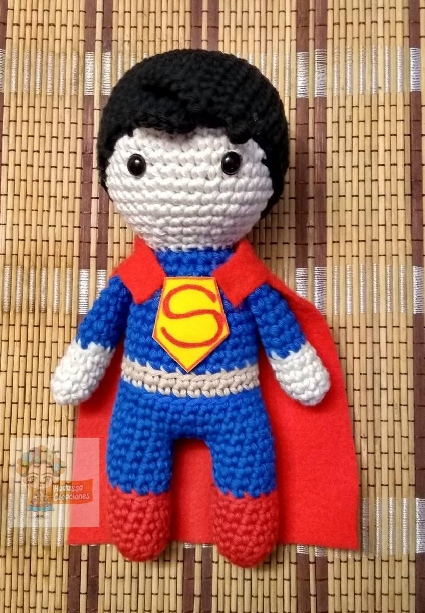 ¡ Amigurumis de Superhéroes a cascoporro !