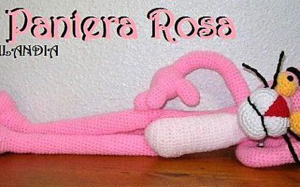 Pantera rosa xxl amigurumi-